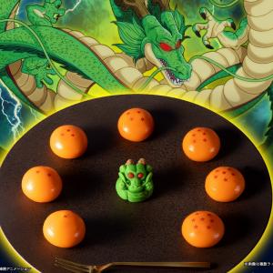 出でよ神龍!!「ドラゴンボール」の和菓子がファミマに登場 シークレット含む9種類全部集めたい!