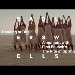 舞踊家ピナ・バウシュ振付 「春の祭典」コロナ下で特別に収録された新映像作品が 7 月 31 日まで期間限定配信