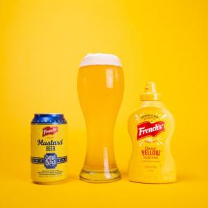 マスタードの代表的なブランドであるFrench'sがマスタードのビール「French's Mustard Beer」を発表