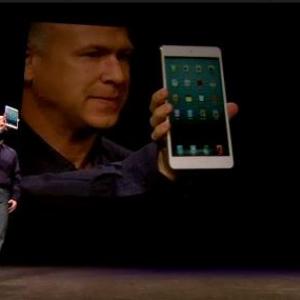 アップルが新タブレット『iPad mini』を発表 11月2日発売で2万8800円から