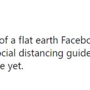 地球平面説を支持するFacebookグループから追い出された理由とは? 「地球平面説を信じてる人って都市伝説じゃなくて本当に存在するんだよ」
