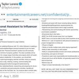 著名YouTuberのアシスタント職の求人情報がツッコミどころ満載で集中放火を浴びてしまう 「奴隷契約だな」「どこのどいつだよ」
