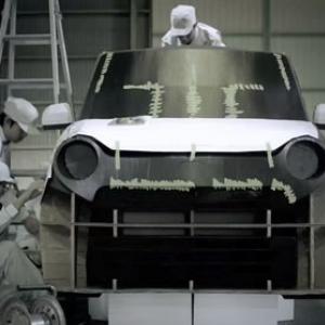 【動画】まさにプロの犯行 ホンダが軽自動車『N-ONE』実寸大のアレを制作