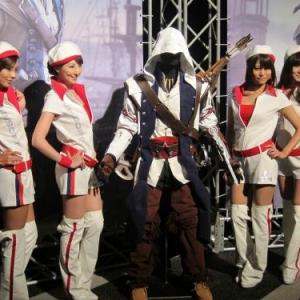 UBI単独イベント開催! WiiU版『アサシンクリードIII』と『ZombieU』に人気集中