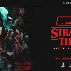 『ストレンジャー・シングス 未知の世界』をテーマにしたドライブスルー型アトラクション 今年10月にロサンゼルスでオープン予定