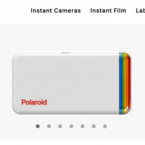 スマホで撮影した写真をシールにできるポラロイドの「Hi Print 2×3 Pocket Photo Printer」