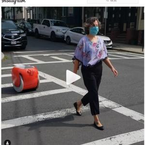 マイバッグはこれにしたい!? 人間の後について荷物を運んでくれるロボット「gita」