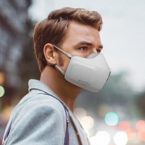 マスクじゃなくてウェアラブル空気清浄機 LGが「PuriCare Wearable Air Purifier」を発表