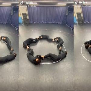 よくわからないけど凄い!! 嵐5人が円形に繋がったまま縮む……謎動画「#SummerWorkout」が話題に「なにがしたいの(笑)」