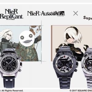 ニーアや2Bの腕時計・バッグなど『NieR』シリーズコラボアイテム登場!「黒文病」やヨルハ部隊のマークをさり気なく配置