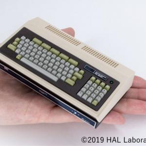 手のひらサイズでよみがえった8ビットパソコンの名機「パソコンミニ PC-8001」がAmazonで販売開始 「スーパーギャラクシアン」などナムコゲーム3本もアップデートで追加