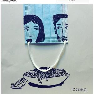 ドイツ人アーティストによる本物のマスクを使ったアート作品 「着眼点が素晴らしい」「なんとも詩的な作品だ」