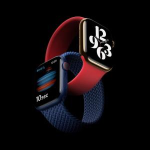 血中酸素濃度の計測機能を搭載した「Apple Watch Series 6」は9月18日発売