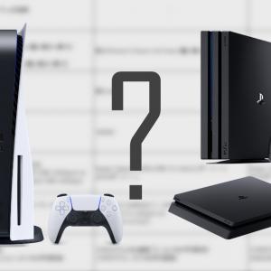 実際どれくらい違うの?PS5とPS4 ProとPS4のスペックを比較してみた!