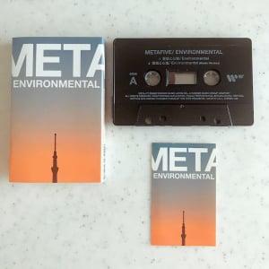 METAFIVE、最新シングル「環境と心理」カセット・テープと新作Tシャツが限定発売