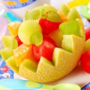 来客時のおもてなしはフルーツで!おすすめの切り方