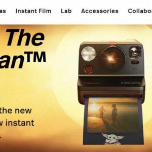 ポラロイドが『マンダロリアン』とコラボしたカメラとフィルムを発売