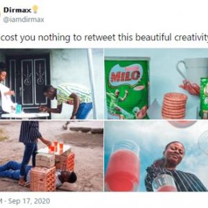 """予算をかけなくとも知恵と工夫で""""広告っぽい写真""""はいくらでも撮れるんです 「安上りだなあ」「素晴らしい発想だ」"""