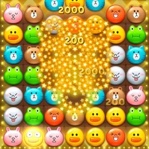 【アプリ】『LINE』のゲームアプリ『LINE POP』が面白い ビジュエルドっぽいルールのパズルゲーム