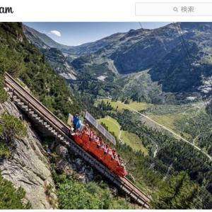 早回し再生したらほぼほぼ絶叫マシンじゃねーか! スイスの怖すぎるケーブルカー「ゲルマーバーン」