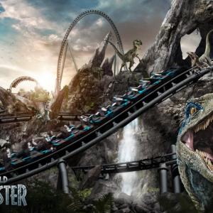 ヴェロキラプトルがテーマのジェットコースター「Jurassic World VelociCoaster」がユニバーサル・オーランド・リゾートに2021年夏オープン
