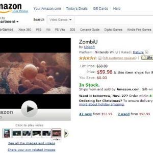 WiiUロンチタイトル『ZombiU』アマゾンレビューが高評価すぎ! 「WiiUで最高のロンチ!」「買うまで心配だった」