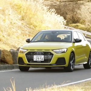新型 アウディ A1スポーツバック|オプションてんこ盛りの 1stエディションが狙い目【Used Car Debut News!】