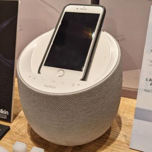 ベルキンがワイヤレス充電器付きスマートスピーカー「SOUNDFORM ELITE HI-FI スマートスピーカー」を10月23日に発売へ 高品位でリアルなDevialetの音響技術を採用して4万2550円