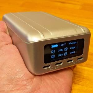 PD対応USB-Cポートを4口搭載 4台のデバイスに最大138Wで充電できる高出力・大容量モバイルバッテリー「SuperTank Pro」レビュー