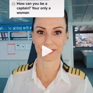 女性蔑視コメントに大人の対応を見せた女性船長が話題 「頭の回転良すぎです」「スカッとしたわ」