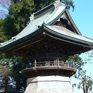 キテレツ斎様が重要文化財のお堂を建立していた!? 千葉県柏市の布施弁天の鐘楼