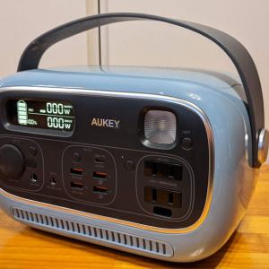 AUKEYのポータブル電源「PowerStudio」レビュー リモートワーク1日分の電源として使えるか検証してみた