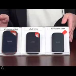 サンディスクのポータブルストレージ3製品が11月以降順次発売へ