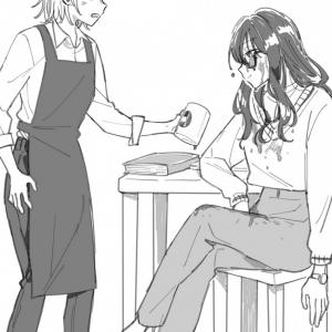 「女性同士の感情の殴り合いが好き」 常連女性漫画家にイラつくカフェバイトのマンガの「大掛かりな仕返し」に圧倒された