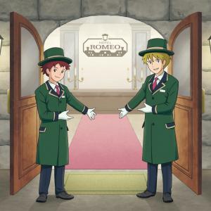 ロミオ&アルフレドがホテリエになってお出迎え!『ロミオの青い空』ホテルコラボ&初のコラボカフェ実施