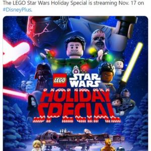 「LEGO スター・ウォーズ/ホリデー・スペシャル」の予告編公開 Disney+で11月17日配信予定