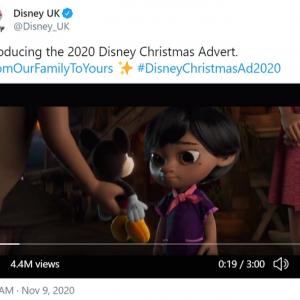 ディズニーのクリスマス広告が多くのフィリピンやフィリピン系の人々の共感を呼ぶ