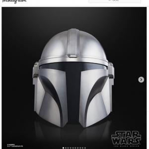 『マンダロリアン』シリーズにインスパイアされたヘルメット「The Mandalorian Electronic Helmet」の予約注文受付開始