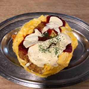 「『ハン』はハンガリー、『トン』はフランス語でマグロ」金沢のB級グルメの代表格!グリルオーツカのハントンライスを食べてみた