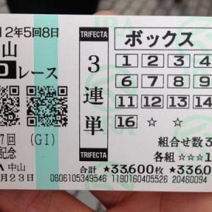 有馬記念で三連単(33万6千円)を全通り買いした無残な集団グループを発見!