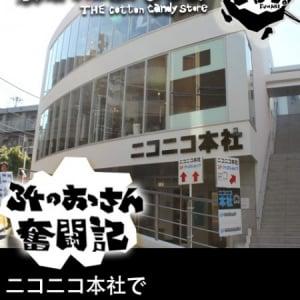 「綿菓子屋さん ふわり。」34のおっさん奮闘記―年明けはニコニコ本社で綿菓子販売!!―(12月23日~12月29日)