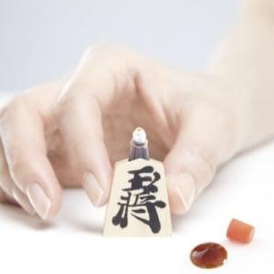 将棋めしにあるといいな 将棋の駒モチーフ醤油さし「将棋さし」
