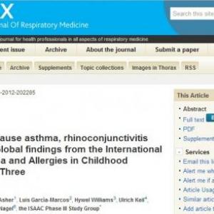 ジャンクフード食べ過ぎの子供は喘息にかかりやすい?