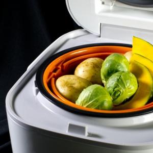 IH炊飯ジャー 炊きたて tacook 3合炊き JKU-A550-W(TIGER)フォトレビュー