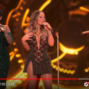マライア・キャリー、アリアナ・グランデ、ジェニファー・ハドソンの豪華すぎる歌姫共演 「歴史に残る3人組だ」「イルカ同士が会話しているようなホイッスルボイス」