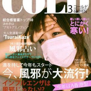 【偽雑誌シリーズ】今、風邪が大流行!