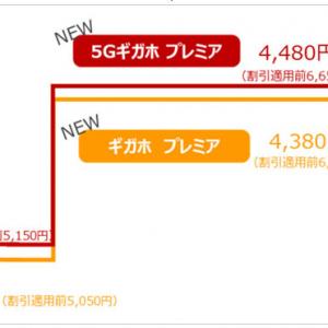 ドコモがデータ無制限で1000円引きの新料金「5Gギガホ プレミア」「ギガホ プレミア」を4月1日開始へ ナンバーポータビリティ手数料も同日に廃止
