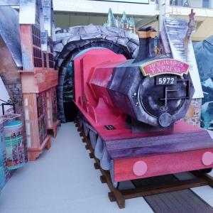 ラゾーナ川崎でハリー・ポッターの魔法ワールドが展開中!屋外でスノーマジックもあるよ