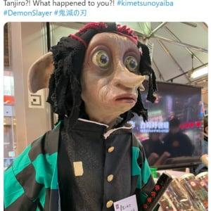 炭治郎になりたがるドビーが日本で目撃された模様です 「ドビ郎」「ドビーがどういう格好したっていいじゃないか」