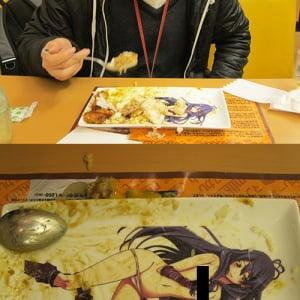 【アキバックス】秋葉原で女体盛りカレーが食べられるとのウワサ 早速行ってきた(動画)